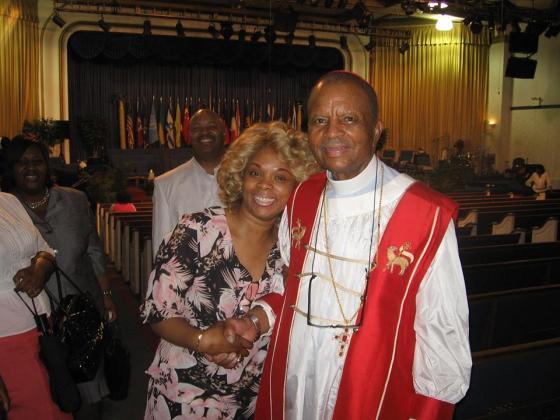 Evangelist Hélène H. Oord  & Pastor John H. Boyd