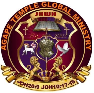 AGAPE TEMPLE GLOBAL MINISTRIES LOGO